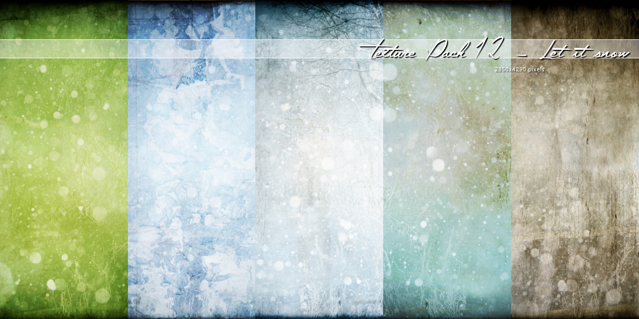 Texture012 – Let it snow
