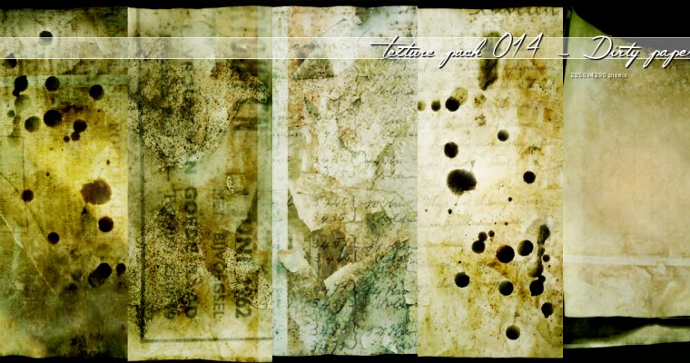 Texture014 – Dirty paper