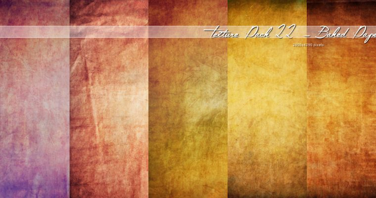 Texture022 – Baked paper