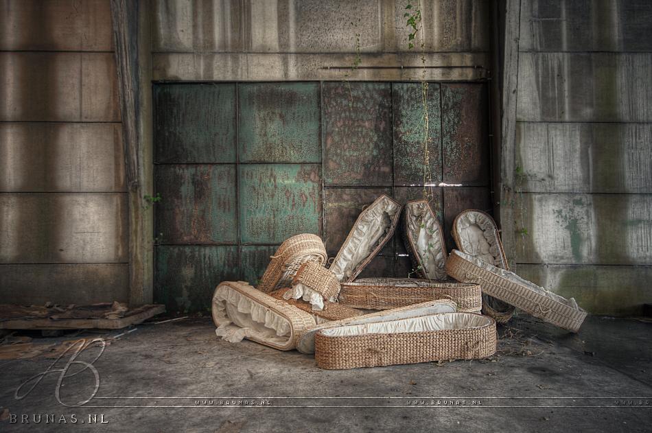 Strange coffins